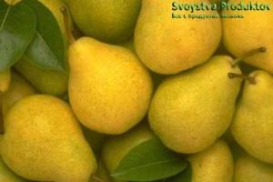Груши Состав витаминов-