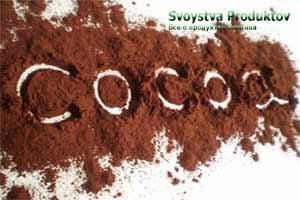 состав и калорийность какао