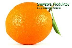состав витаминов апельсина