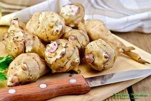 Как готовить топинамбур