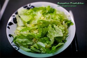 рецепты приготовления салата айсберг